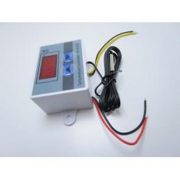 Termostato digitale AC 220V 10A 1500W per controllo di temperature + sonda ntc