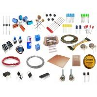 Componenti e ricambi di elettronica, termostati, batterie, terminali, dimme, pompe, regolatori di tensione, pulsanti e interruttori